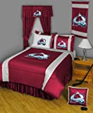 NHL Colorado Avalanche 5pc Twin Bedding Set at Amazon.com