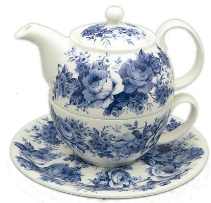 Roy Kirkham English Chintz Tea For One Set