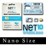 4G/LTE Nano Sim Card Net 10