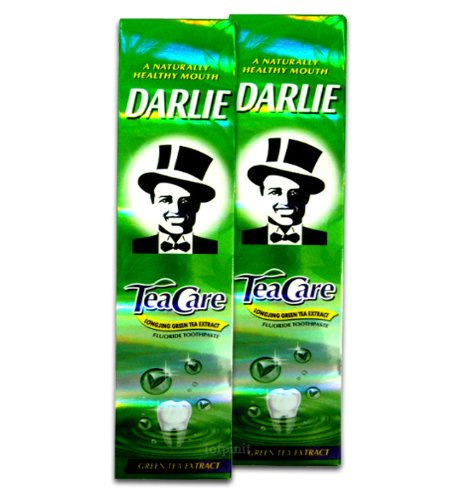160G X 20 Darlie Toothpaste Tea Care Green Tea Extract Oral Care Made In Thailand