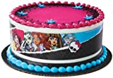 Monster High Designer Prints Edible Cake Image