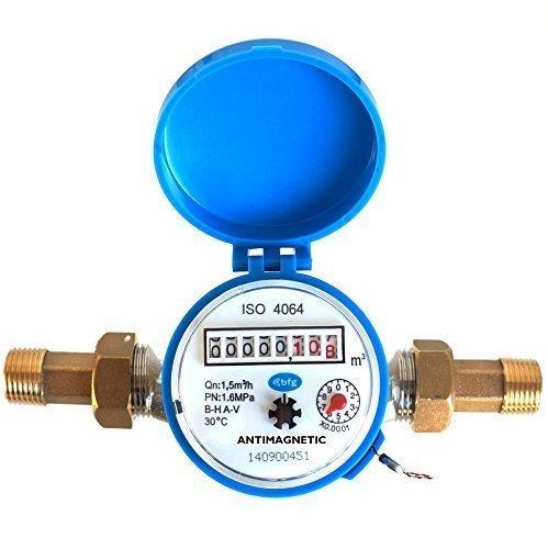 eau-metre-flux-maison-et-jardin-15m3-h-avec-13cm-anti-retour-laiton-fixations