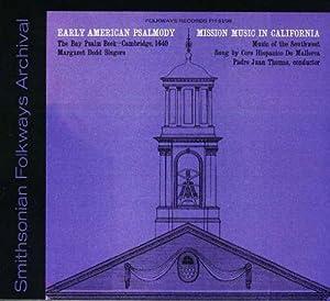 Early American Psalmody