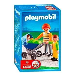 Playmobil - 4408 - Jeu de construction - Papa / enfant / landau