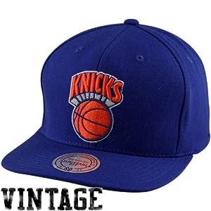 NBA Mitchell & Ness New York Knicks Hardwood Classics Basic Vintage Logo Snapback... by Mitchell & Ness