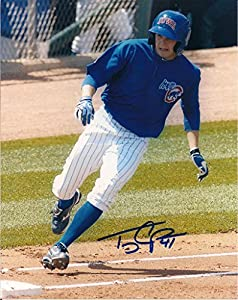 Tony Campana Iowa Cubs Signed 8x10 Photo W COA by Hollywood Collectibles