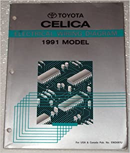 1991 Toyota Celica Electrical Wiring Diagram (AT180, ST184 ...