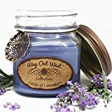 Way Out  West Scented Jar Candles Gift Set of 2 -Natural Soy Wax Blend- Fragrant, Long Lasting Candles -Best Scented Candle Gift Idea - Unique Her