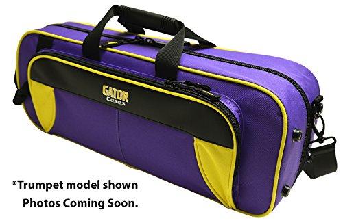 Gator Gl-Flute-Yp Spirit Series Lightweight Flute Case, Yellow & Purple
