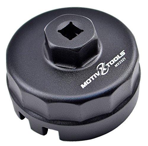 Motivx Tools Toyota Oil Filter Wrench for 1.8 Liter Prius, Prius V, Corolla, Matrix, Lexus CT200h, Scion iM, iQ & xD (Oil Filter Remover Tool compare prices)