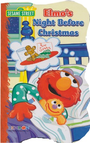 Sesame Street® Christmas Edition Books Elmo'S Night Before Christmas & Snowy Day Featuring Elmo & Friends front-1000098