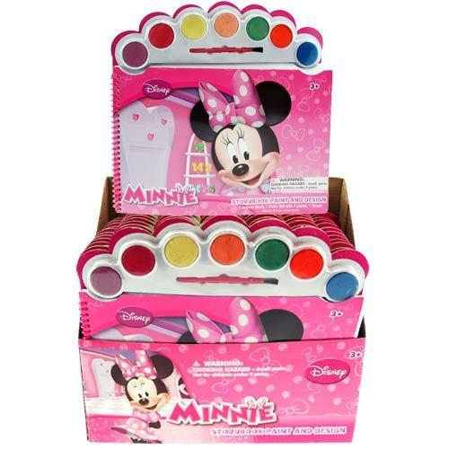 Disney Minnie Mouse Story Book Paint & Design Activity Set - 1