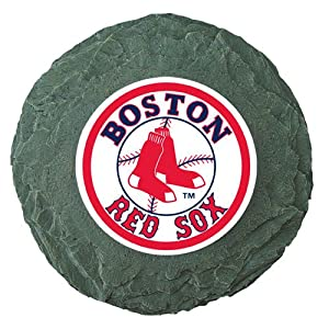 Click to buy Boston Red Sox Logo Merchandise: MLB Boston Red Sox Stepping Stone from Amazon!
