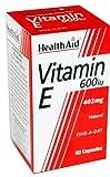 HealthAid Vitamin E 600iu - 60 Capsules