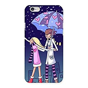 Anime Couple Multicolor Back Case Cover for iPhone 6 6S