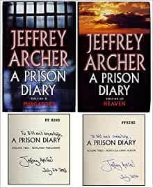 review on jeffery archer a prison diary In july 2001, jeffrey archer was convicted in britain for perjury and sentenced to a four-year prison term his sentence started with a stint at a category.