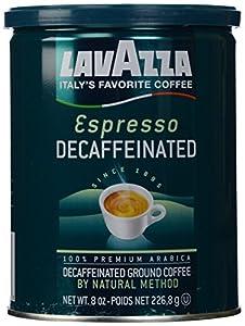 Lavazza Decaf Ground Coffee - Espresso - 8 oz
