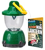 Backyard Safari Mini Lantern can be clipped, carried or hung! Field ready and within easy reach, it provides instant light. This water-resistant mini lantern features a bright LED bulb and has a sturdy carabiner clip that attaches right to your Backyard Safari Cargo Vest or Base Camp Shelter! Recommended for children 6 years of age and older.