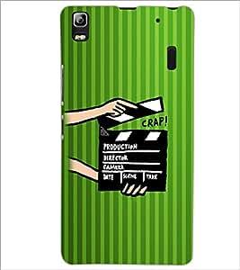 PrintDhaba Shot Takes D-2607 Back Case Cover for LENOVO K3 NOTE (Multi-Coloured)
