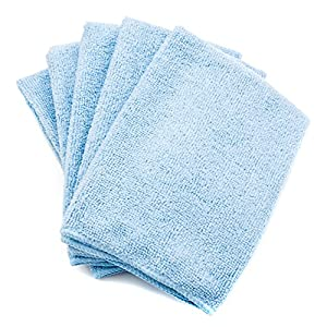 Microfiber Cleaning Cloth (5 Pack) - Now 30% Off! - Multi-Purpose Cleaning Towels For Cars, Appliances, and Electronics. High Absorbency - Washable - Reusable - Lint Free! from Federico's Car Care