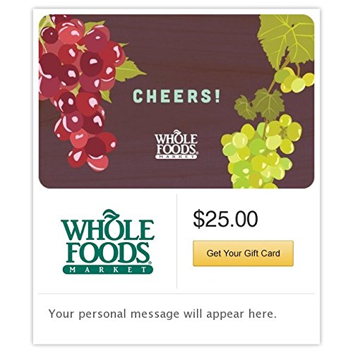 Whole Foods Market Cheers Gift Cards - E-Mail Delivery