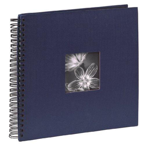 Hama 36 x 32/ 50 cm Fine Art Spiral Album, Blue