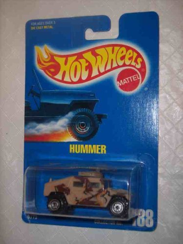 #188 Hummer CT Wheels Tan With Tampos On Side And Roof Collectible Collector Car Mattel Hot Wheels 1:64 Scale