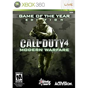51%2BFHhHLogL. AA300  Call of Duty 4: Modern Warfare (Xbox 360)   $19 + S&H
