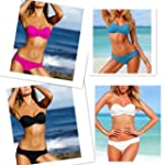 Zicac - 2PCS Nouveau Fashion Maillot...