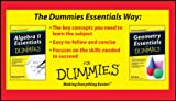 img - for Algebra II and Geometry Essentials For Dummies Bundle (For Dummies (Math & Science)) book / textbook / text book