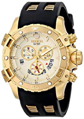 Invicta Men's 15858 Specialty Analog Display Swiss Quartz Black Watch