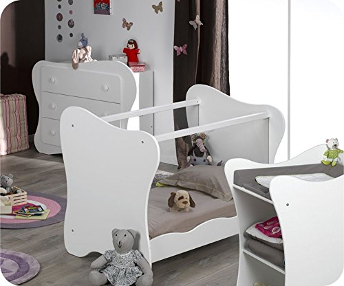Mini Babyzimmer Iris weiß