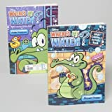 Where's My Water? Giant Coloring & Activity Book (Assorted, Designs Vary)