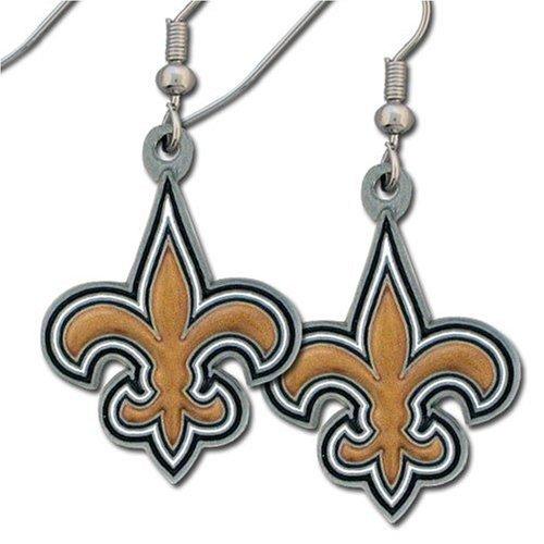 NFL New Orleans Saints Dangle Earrings