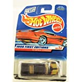 Hot Wheels - 1998 First Editions - 1965 Impala Lowrider - Purple - Die Cast - Collector #635 - #8 Of
