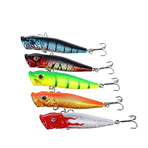 Buy generic topwater fishing lures popper lure for Amazon fishing lures