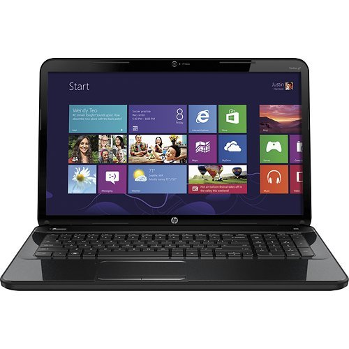 HP Pavilion G7-2215DX 17.3 Laptop (Black) / Intel Pentium processor B950 , 4GB DDR3 SDRAM , 500GB hard ram , WebCam, HDMI, Windows 8