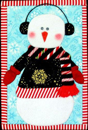 Artsi2 A2LGGIZ Snowman Gizmo Wall Hanging Kit