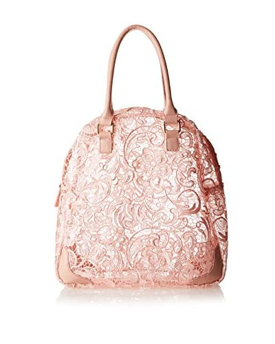 Nila Anthony Women's Lace Satchel, Pink