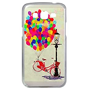 Mobprints Balloons Cycle Back Case for Samsung Galaxy Grand 2