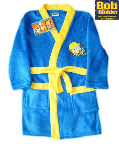 Boys Bob the Builder Dressing Gown 18-24 Months