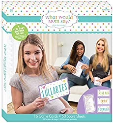 Amscam Baby Shower What Would Mom Say Game, Multicolor