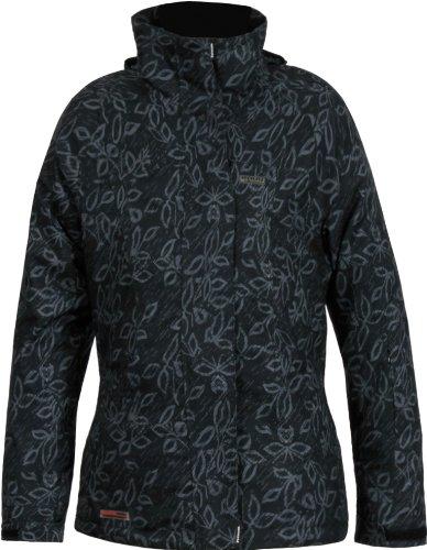 Envy Agur Women's Ski Jacket - Black/Grey, Size