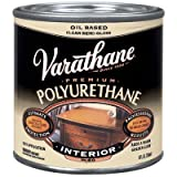 Rust-Oleum Varathane 6061H 1/2-Pint Interior Oil Polyurethane, Semi-Gloss Finish
