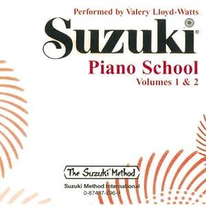 Suzuki Piano School, Volume 1 & 2 (CD) (Suzuki Method)