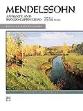 Andante and Rondo Capriccioso, Op. 14 (Alfred Masterwork Edition) (0739014609) by Mendelssohn, Felix