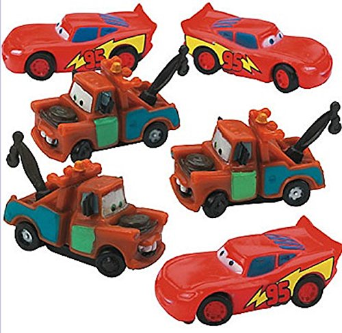 Cars Cake Toppers (6-pack)