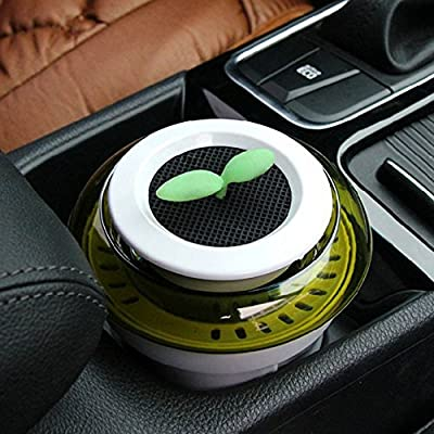 COGEEK Car Air Purifier Potted Air Cleaner for Car Office Best Gift
