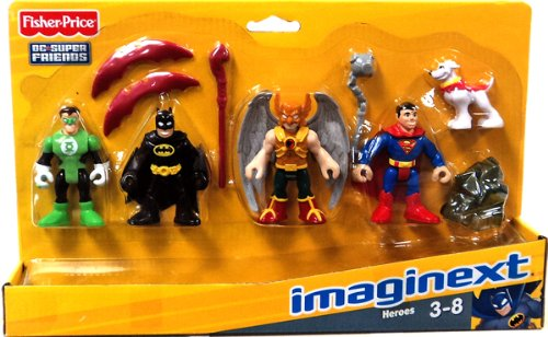 Gift Idea: Imaginext DC Super Friends Set Heroes