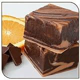 Mo's Fudge Factor, Dark Chocolate Orange Fudge, 1/2 Pound